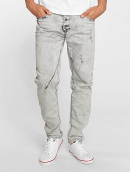 Sky Rebel Straight fit jeans Elay grijs