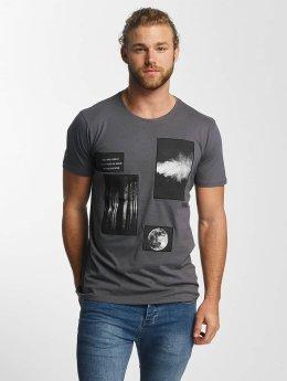 Sky Rebel T-shirt Lean blå