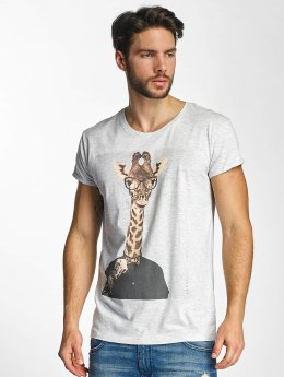 Sky Rebel T-Shirt Luke  gray