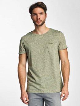 Sky Rebel t-shirt Nevio olijfgroen