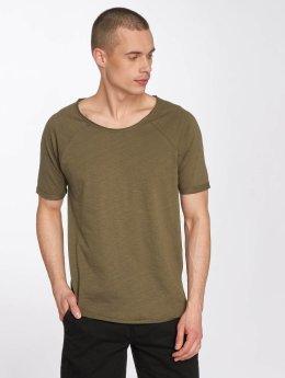 Sky Rebel t-shirt Jonny olijfgroen