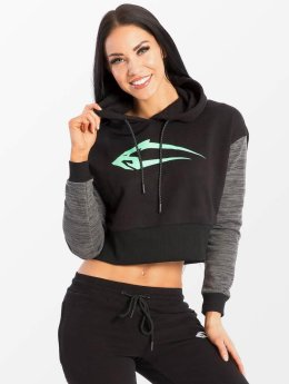 Smilodox Hoodies Flawless Cropped čern