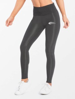 Smilodox Legging Shine Kompressions grijs