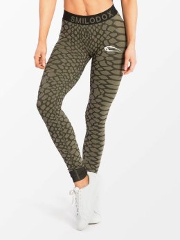 Smilodox Leggings/Treggings Scale green