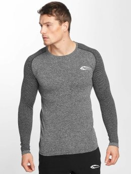 Smilodox Longsleeve Spotted gray