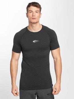 Smilodox Shirts de Sport Accent Seamless gris
