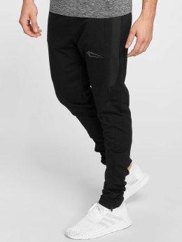 Smilodox Spodnie do joggingu Smooth czarny