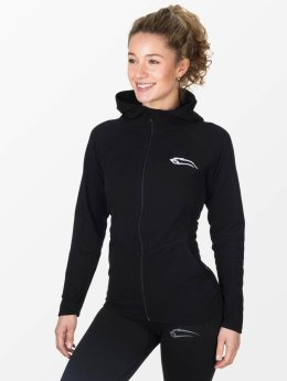 Smilodox Sweat capuche zippé Cozy noir