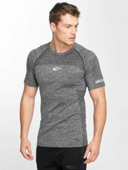 Smilodox T-Shirt Prdie Seamless grau