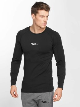 Smilodox T-Shirt manches longues Thunder Seamless noir