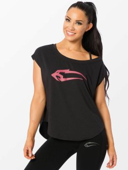 Smilodox t-shirt Loose zwart