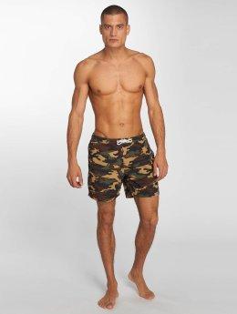 Solid Badebukser Hector Swim camouflage