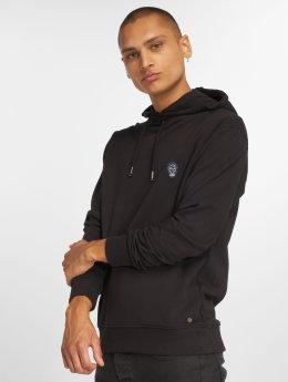 Solid Bluzy z kapturem Senan czarny