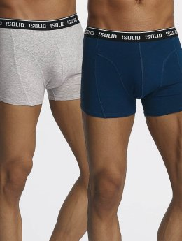 Solid Boxershorts Garri grau