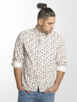 Solid Camisa Major blanco