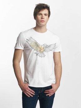Solid Camiseta Laurits  blanco