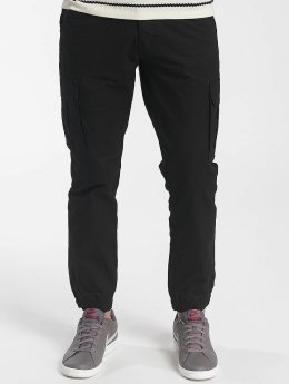 Solid Cargo pants Galo Strech black