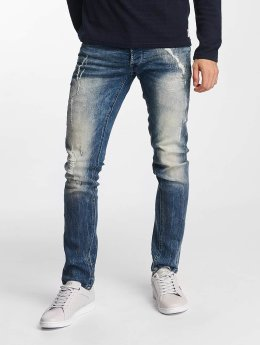 Solid Jean coupe droite Joy Stretch Hybrid bleu