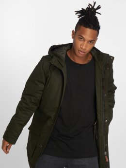 Solid Lightweight Jacket Stafford Transition olive