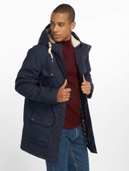 Solid Manteau hiver Evang  bleu