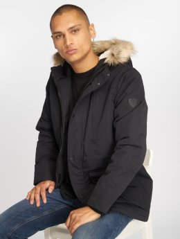 Solid Manteau Steel noir