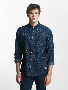 Solid overhemd Magic blauw