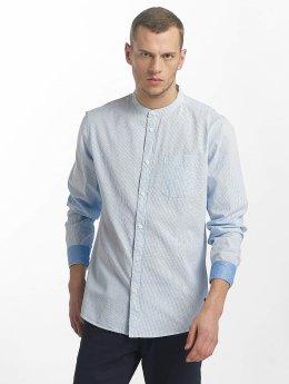 Solid overhemd Marcus blauw