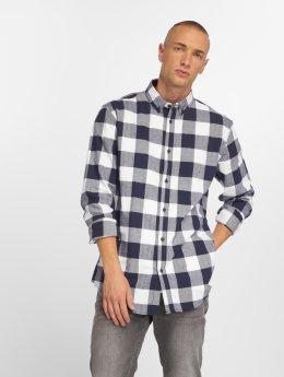 Solid overhemd Raanan blauw