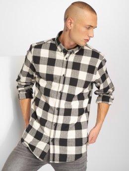 Solid overhemd Raanan zwart