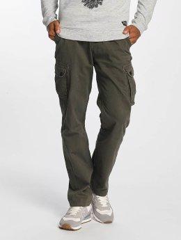 Solid Pantalon cargo Gorge olive