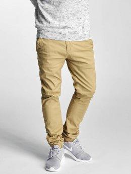 Solid Pantalon chino Joe Crisp beige