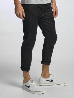 Solid Pantalon chino Holmes noir