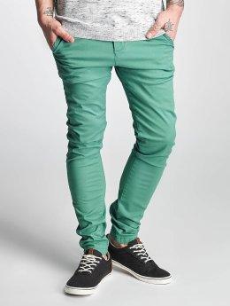Solid Pantalon chino Joe Crisp turquoise