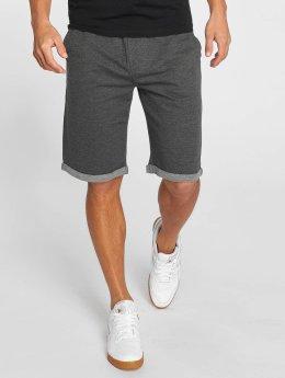 Solid Pantalón cortos Gibby gris