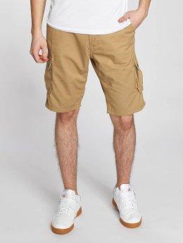 Solid Pantalón cortos Gael Cargo marrón