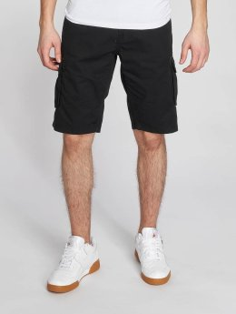 Solid Pantalón cortos Gael negro