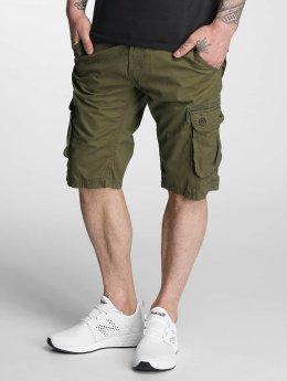 Solid Pantalón cortos Gael verde