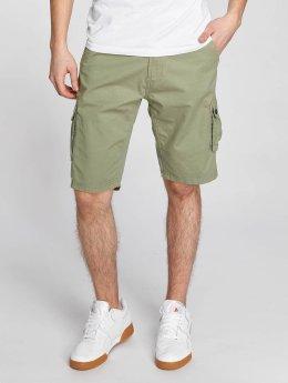Solid Pantalón cortos Gael Cargo verde