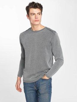Solid Pullover Nino blau