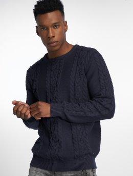 Solid Pullover Sweden blau