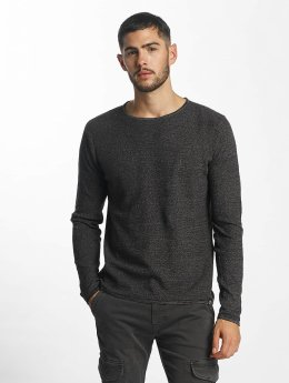 Solid Pullover Jasen grau