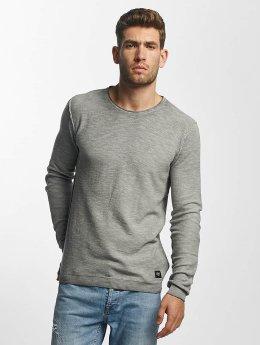Solid Pullover Karli Knit grau