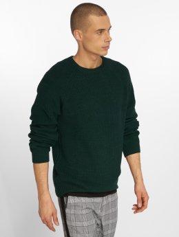 Solid Pullover Stefano grün