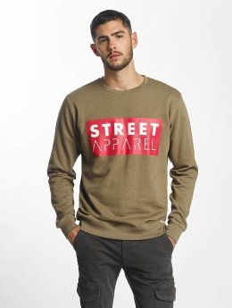 Solid Pullover Kiro olive