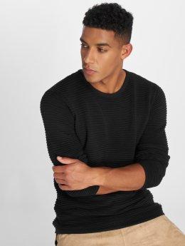 Solid Pullover Struan schwarz