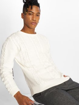 Solid Pullover Sweden white