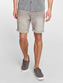 Solid Shorts Lt. Rider Strech Denim grau