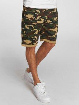 Solid Shorts Gibby Camo mimetico