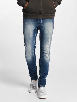 Solid Skinny jeans Dexter blauw