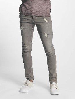 Solid Skinny Jeans Dexter grau
